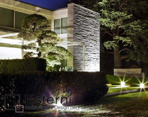 Esterni progetti giardini giardino moderno for Giardini progetti