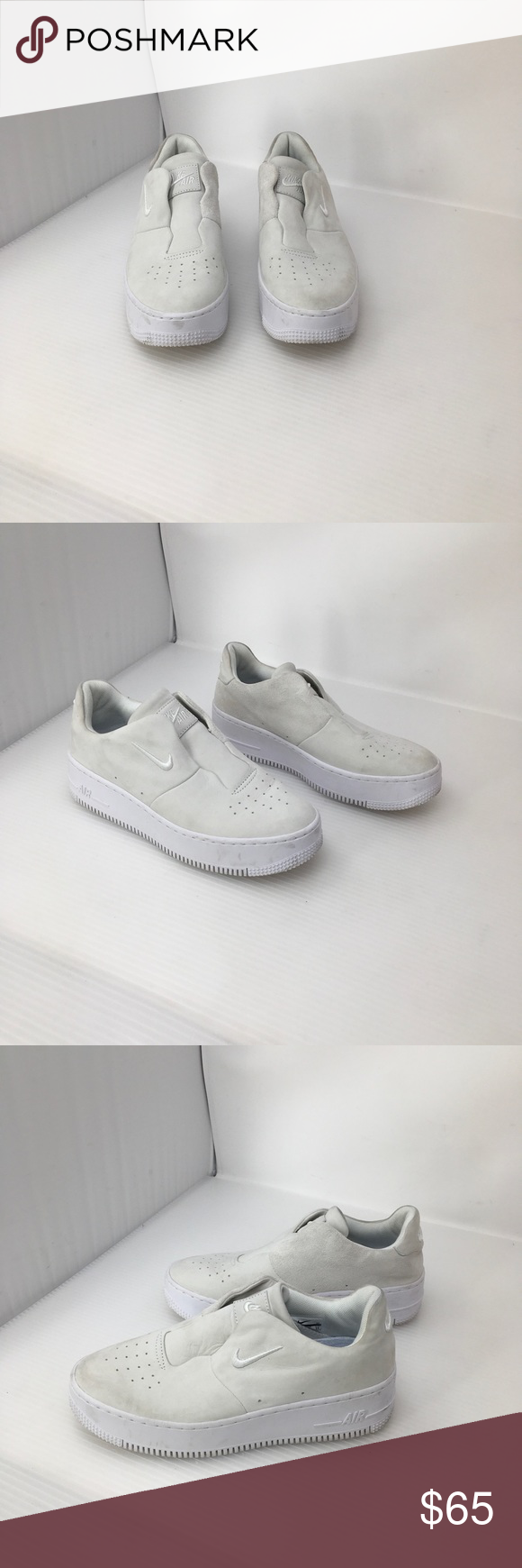 Nike Air Force 1 Laceless Sneakers US 7