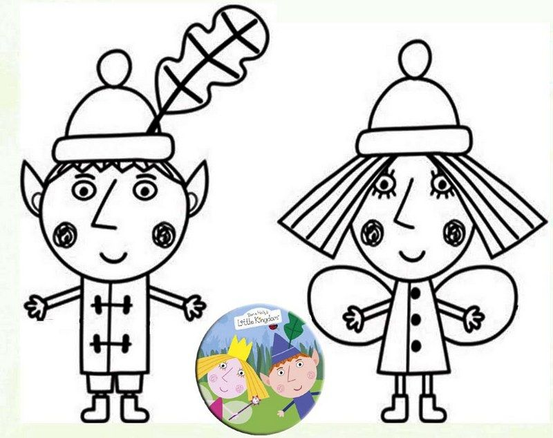 Cute Ben And Holly Coloring Sheet Ben And Holly Nick Jr Coloring Pages Coloring Pages