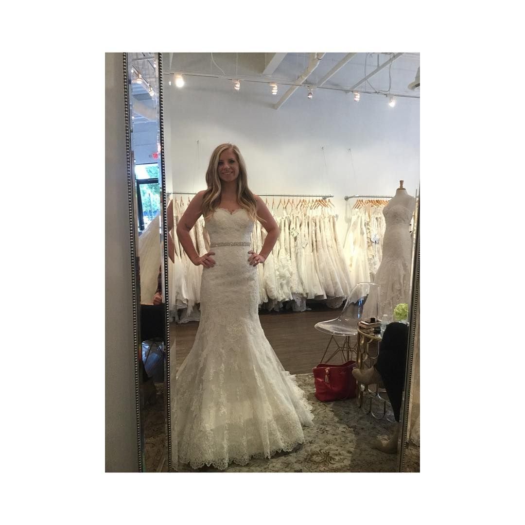 Trying on wedding dresses for the first time  WEDDING POST         One of my FAVORITE parts of wedding