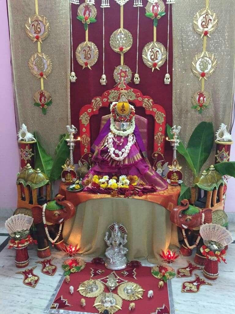 Lakshmi Lakshmi decoration Pinterest