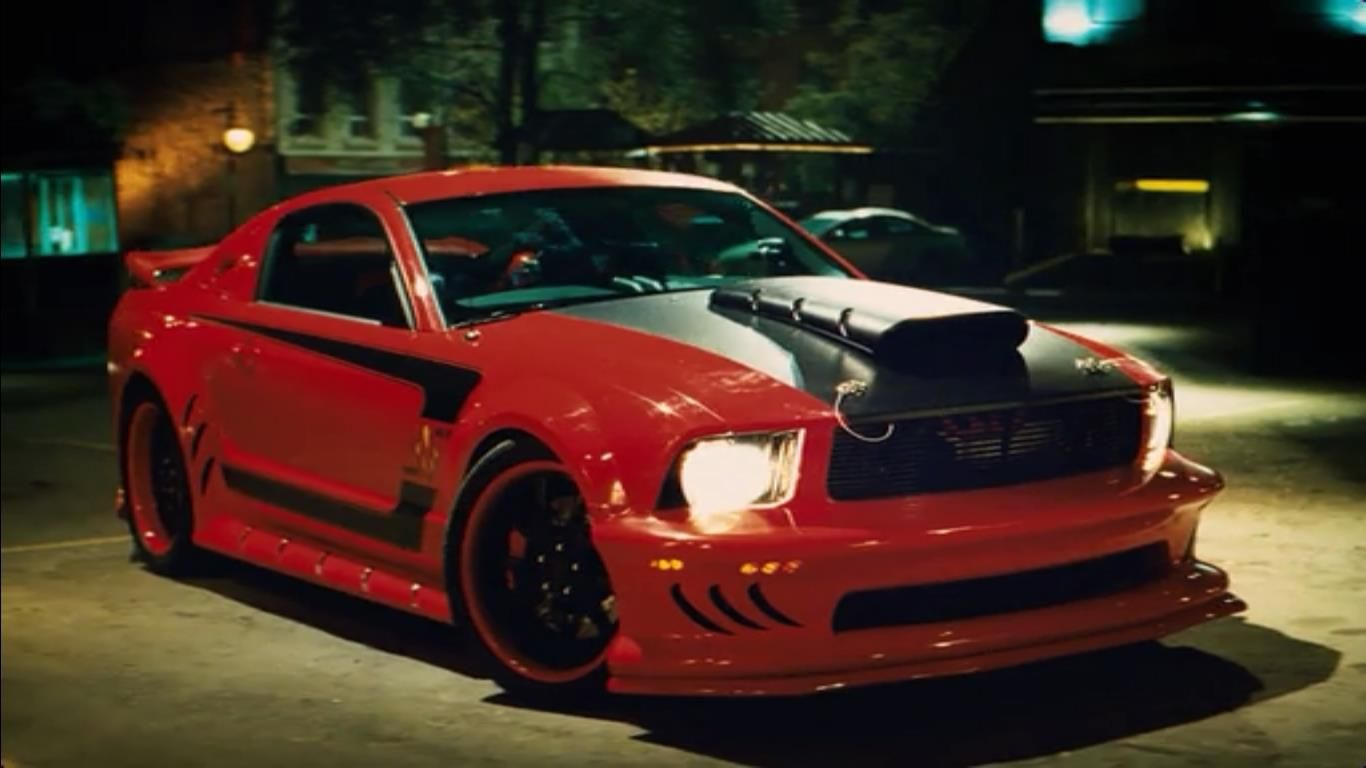 The Red Mist Mustang Features Custom Upgrades Including A One