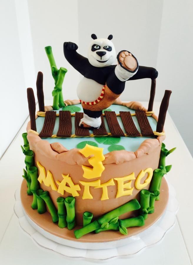 Awe Inspiring 59 Best Kung Fu Panda Cakes Images Panda Cakes Kung Fu Panda Funny Birthday Cards Online Elaedamsfinfo