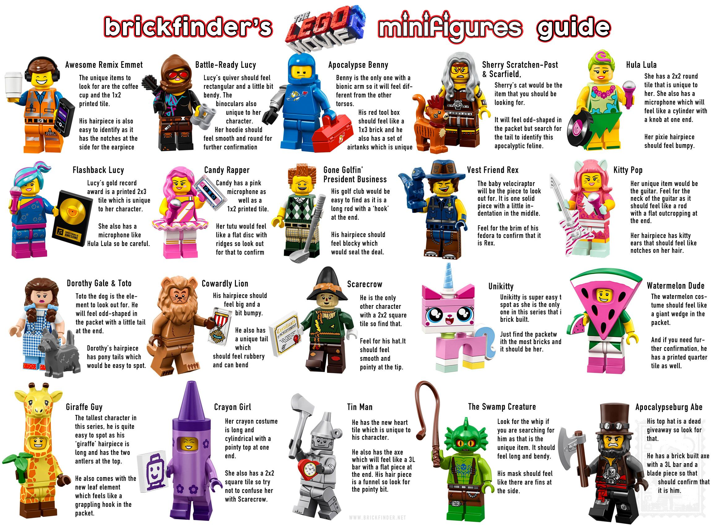 Choose Your Character LEGO The Lego Movie 2 Collectable Minifigures Series