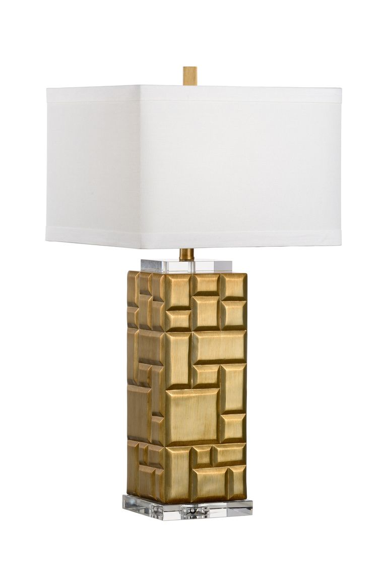 30 5 H Hollywood Squares Lamp 47106 Dimensions7w X 7d X 30 5h  # Muebles Dico Power Center