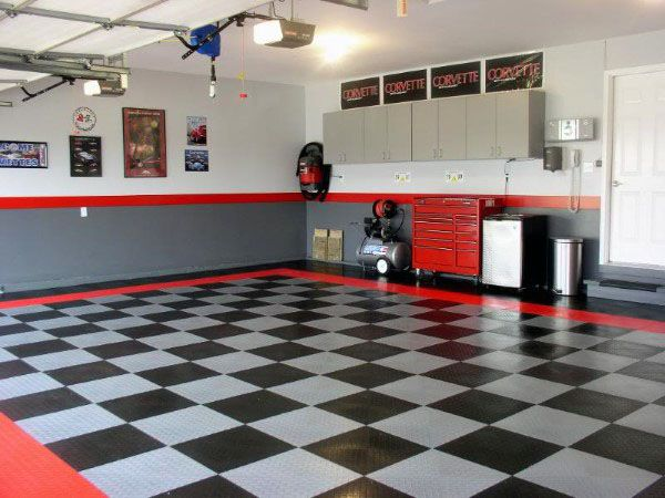 50 Garage Paint Ideas For Men Masculine Wall Colors And Themes Garage Ideas Pinterest