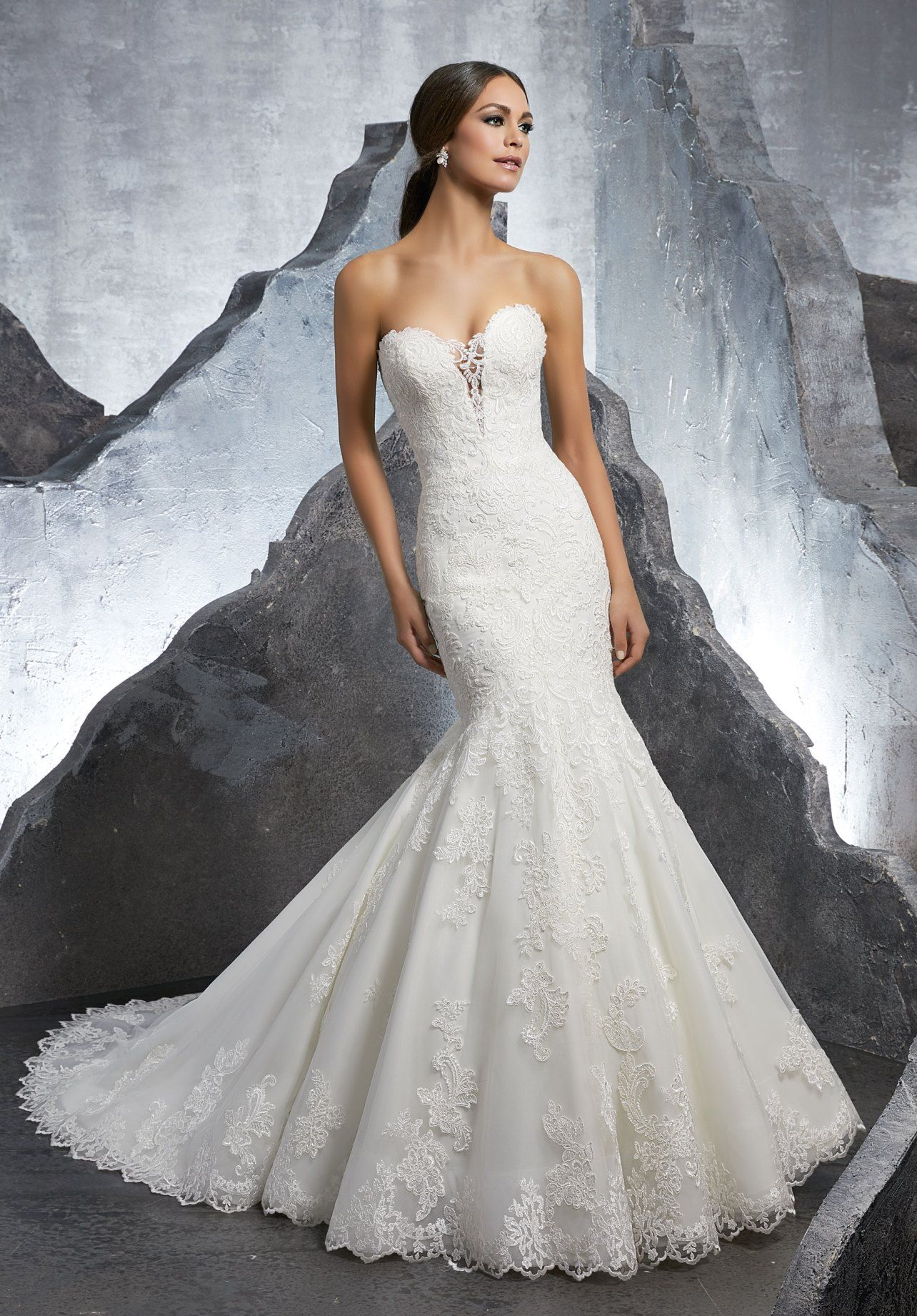 0fee1c202c8 Dress - Mori Lee Blue SPRING 2018 Collection  5607 - Kaitlyn ...