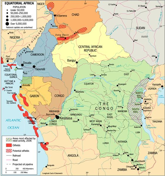 Central Africa Map Anthro Africa Central Africa Pinterest