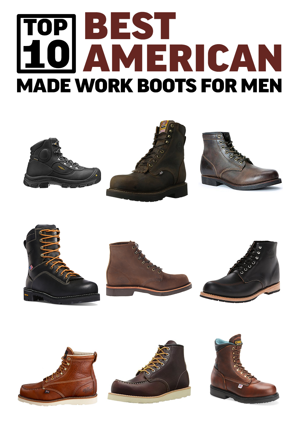 Top 10 Boots For Men