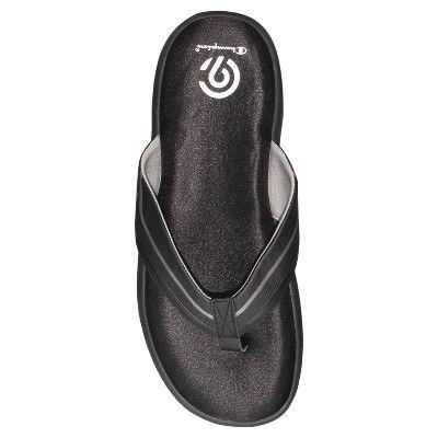 26a16bb7d3e52 Men s Jason Flip Flop Sandals - C9 Champion Grey Black M