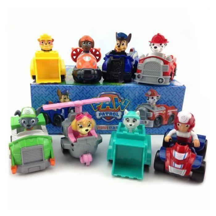 paw patrol figurine pat 39 patrouille voiture jouet 8 set size 10cm x 8cm ma lho pinterest. Black Bedroom Furniture Sets. Home Design Ideas