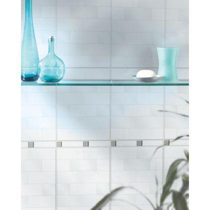 laura ashley highgate wall tiles white field homebase. Black Bedroom Furniture Sets. Home Design Ideas