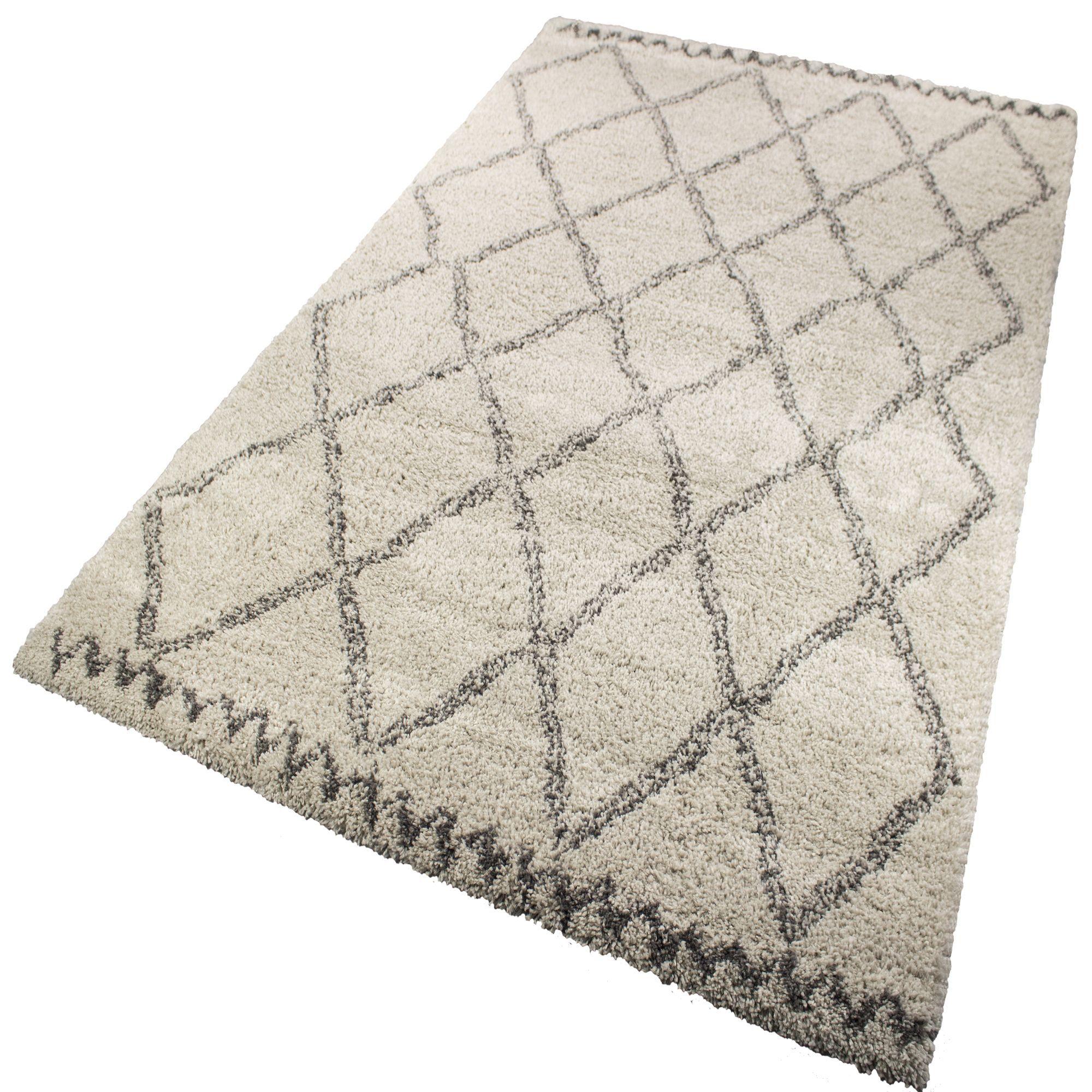 tapis creme et gris 160x230cm aline