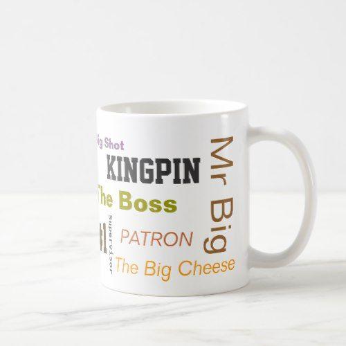 The Boss Coffee Mug | Zazzle.com #bosscoffee