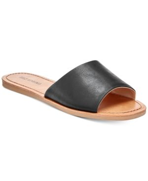 783900cee Call It Spring Thirenia Slide Sandals - Black 10M