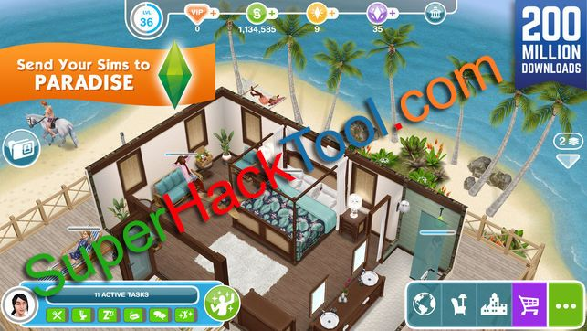 The Sims FreePlay Hack 2018 Updated Generator for Android and iOS No ...