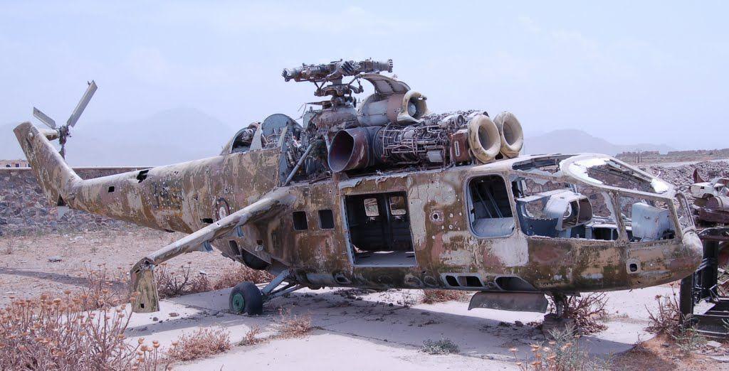 Panoramio Photo Of Old Russian Hind D Helicopter Vertolety Voennoe Iskusstvo Samolet