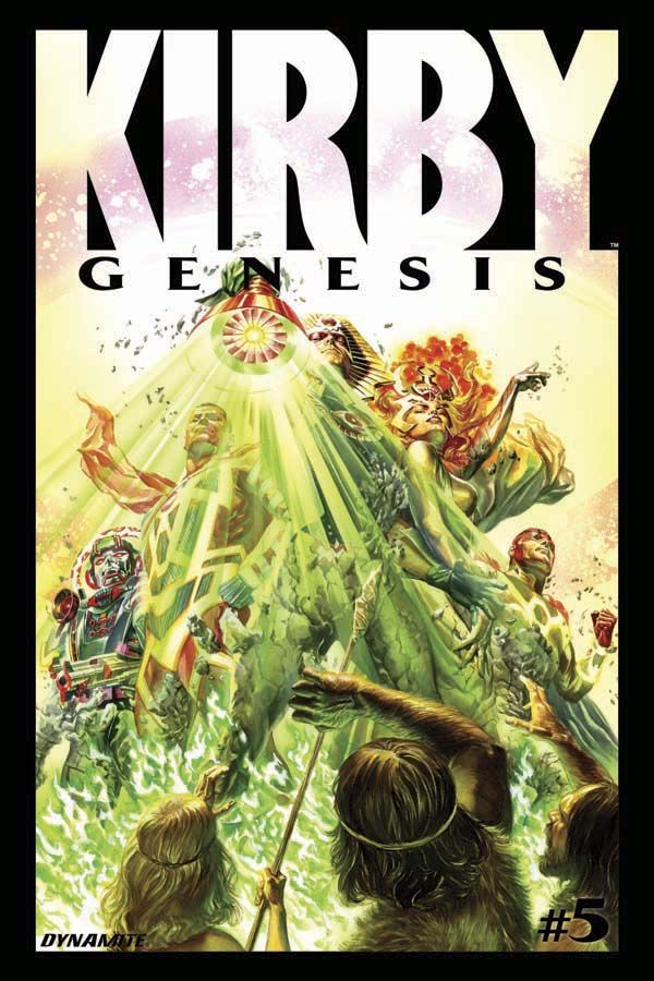 Kirby: Genesis #5 - Cover by Alex Ross