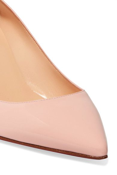 detailed look faa70 1e850 Christian Louboutin - Pigalle Follies 55 Patent-leather ...