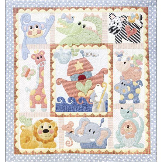 Noahs Ark Is My Theme Baby Baby Quilts Quilt