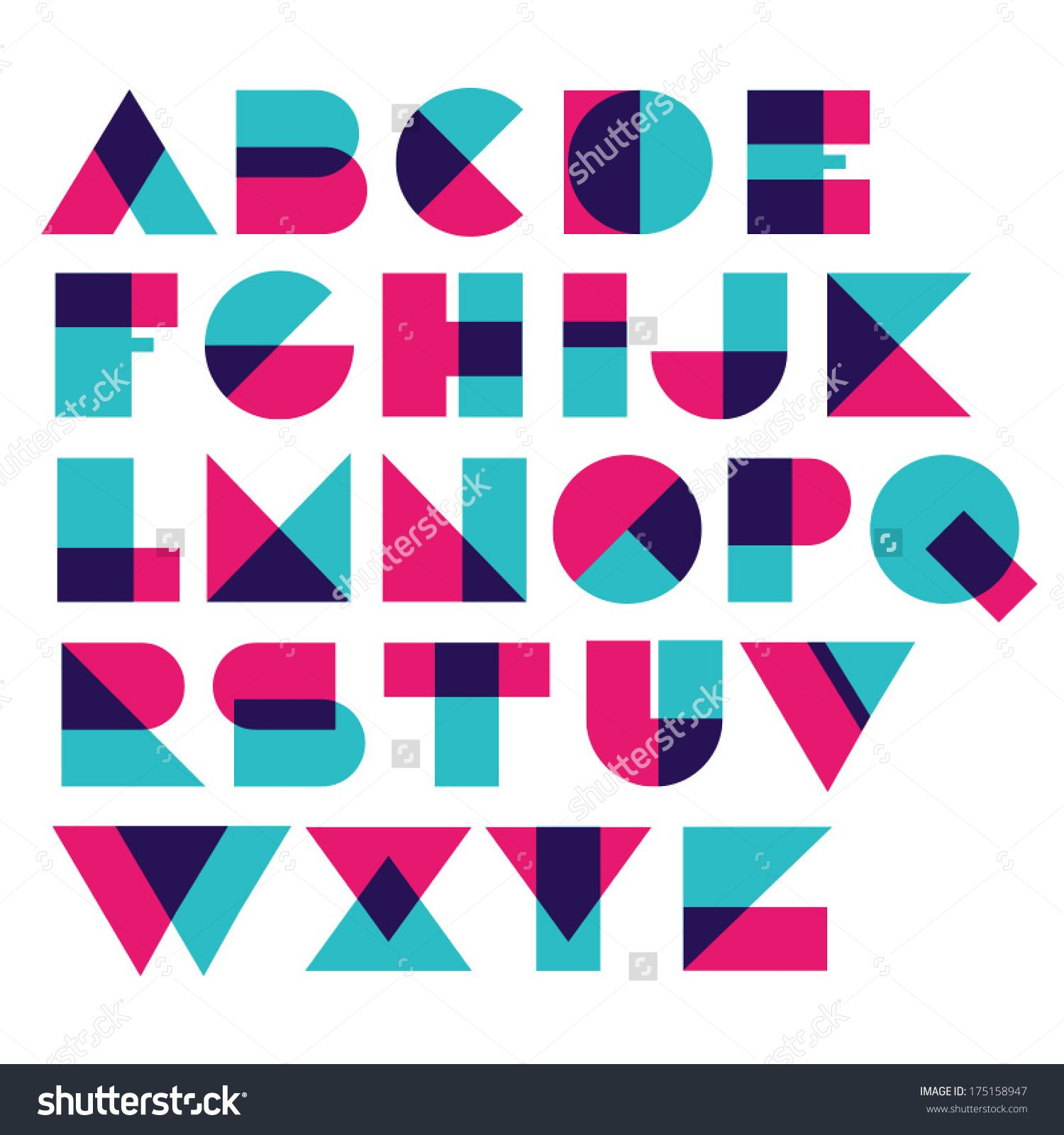 image result for geometric font puzzle refs pinterest geometric font fonts and typo