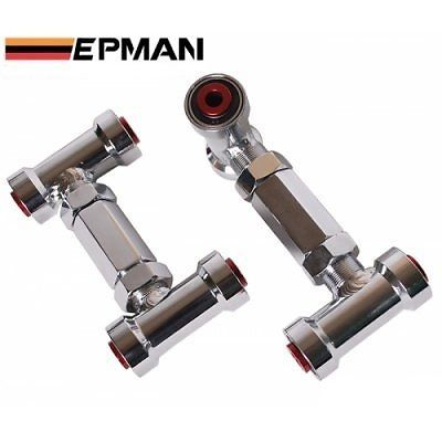EP-CA1029TZLG default color is red EPMAN New RACING REAR ADJUSTABLE CAMBER ARMS KIT FOR 88-01 Honda CIVIC