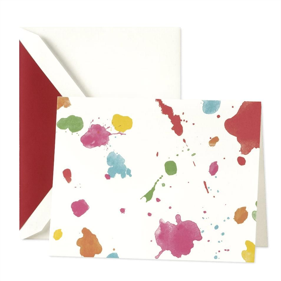KSNY paint the town foldover cards