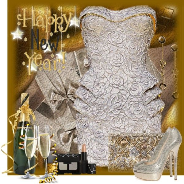 """Happy New Year!"" by ritadolce ❤ liked on Polyvore"