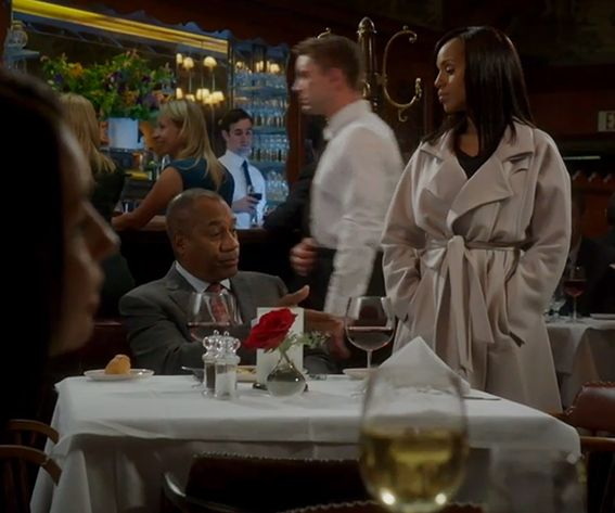 Scandal Fashion Credits: All the Details on What the Stars Wore - SEASON 4, EPISODE 1: GIORGIO ARMANI COAT from #InStyle