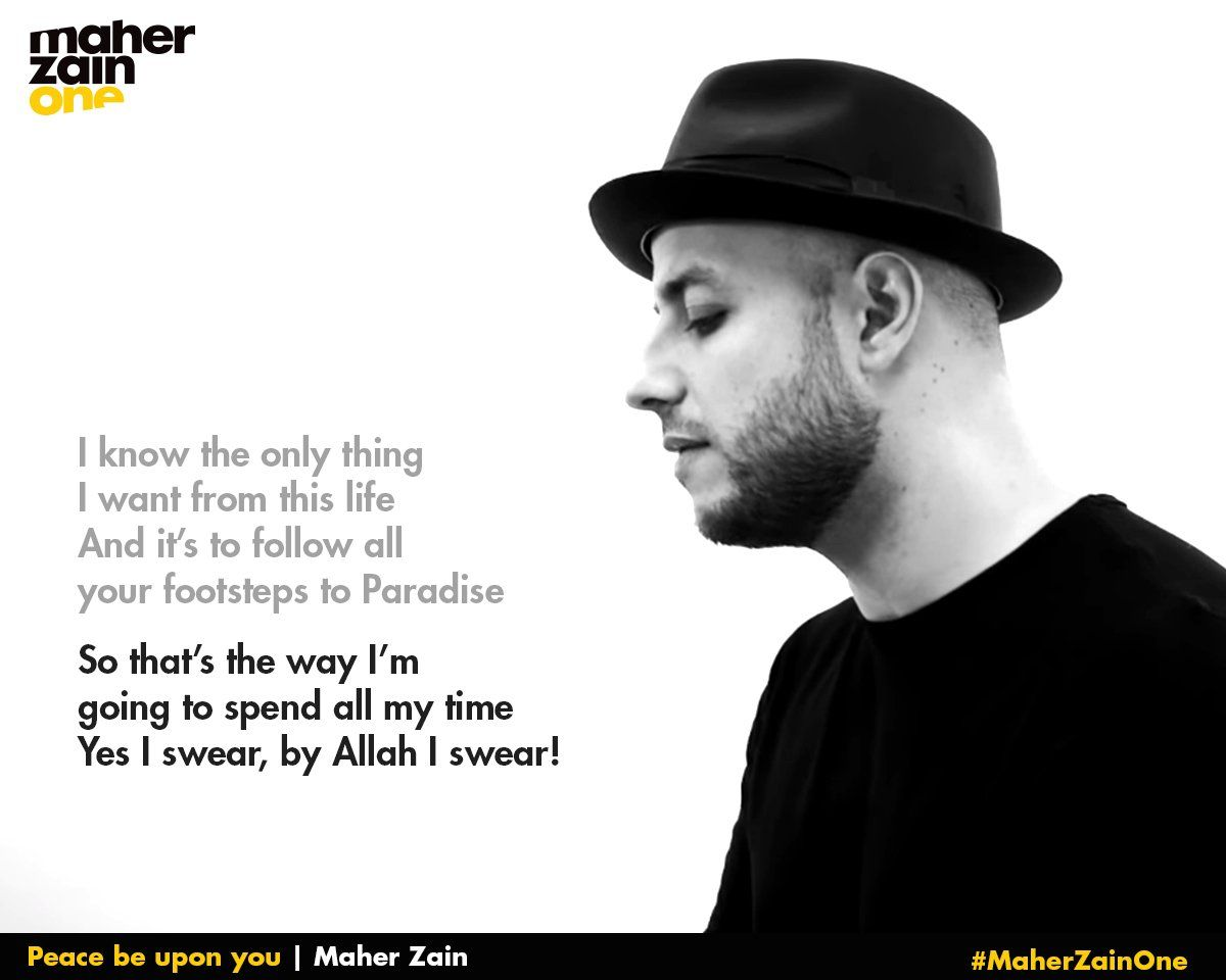 Twitter Maher Zain Maher Zain Songs Quran Verses
