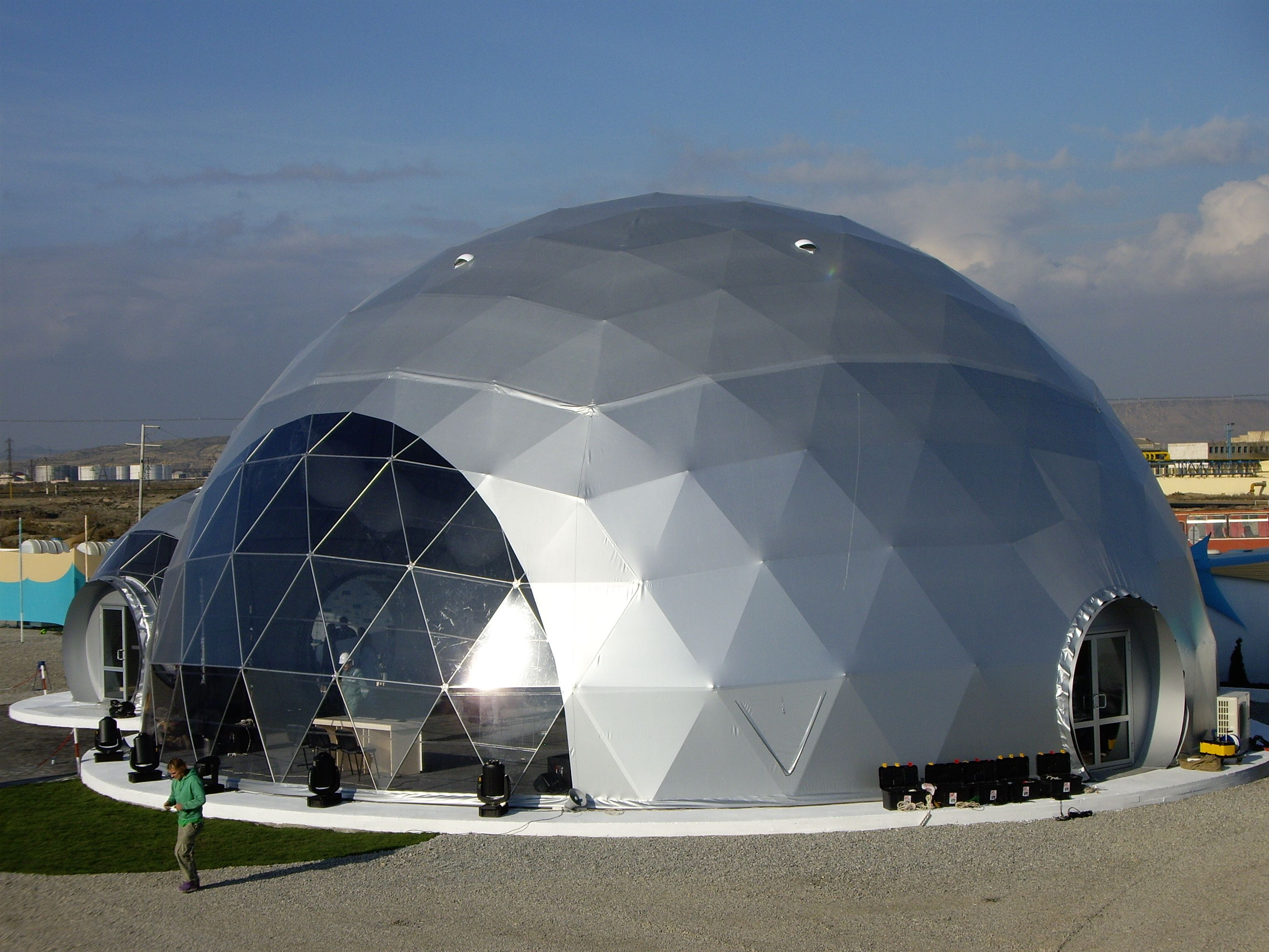 Pavilions – domes for events – Baku Azerbaijan Adjoining