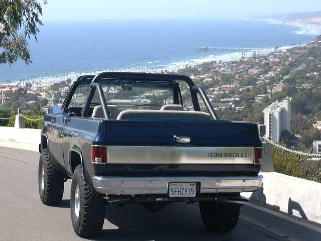 Blk K5 1 Chevrolet Blazer Chevy Blazer K5 Chevrolet