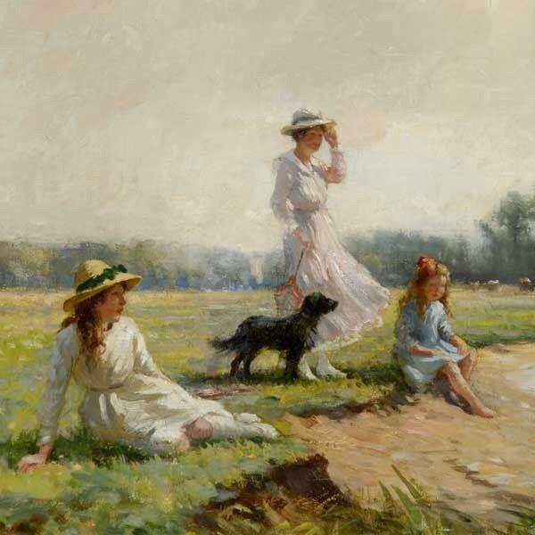William Kay Blacklock Paintings Google Search