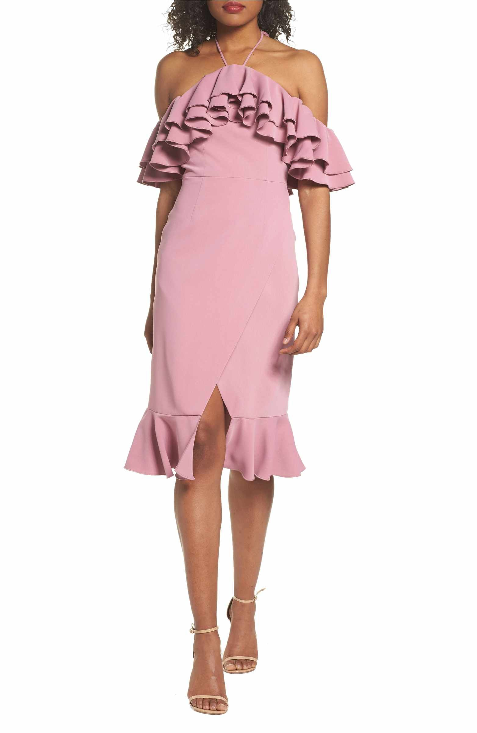 Main Image - C/MEO Collective Temptation Ruffle Off the Shoulder ...