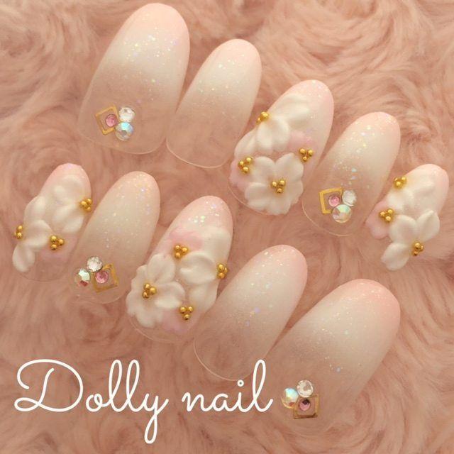 「フラワーネイル」で春先取りの春ネイル♡人気の花柄ネイルデザイン画像100枚♡ -page7 | Jocee