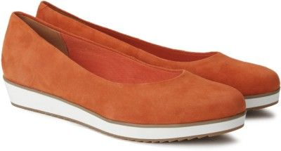 1e52e16d224 Clarks Compass Zone Bellies - Buy Orange Suede Color Clarks Compass Zone  Bellies Online at Best Price - Shop Online for Footwears in India