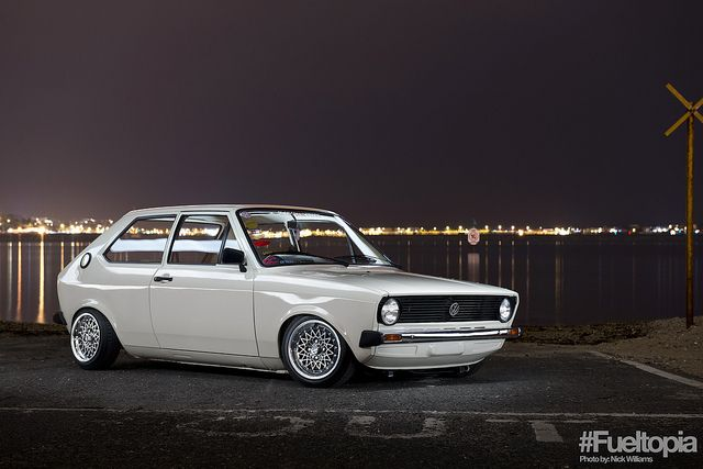 James Mccafferey S Vw Mk1 Polo With Images Volkswagen Car Vw