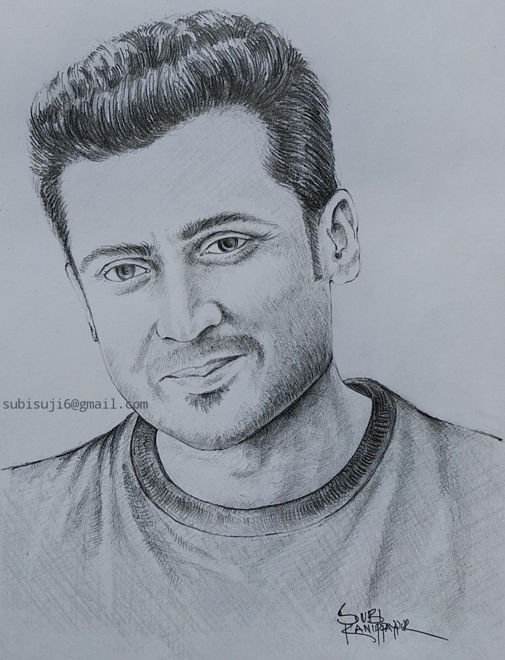 Surya tamil actor drawing s figure drawing hanuman pencil drawings sketching