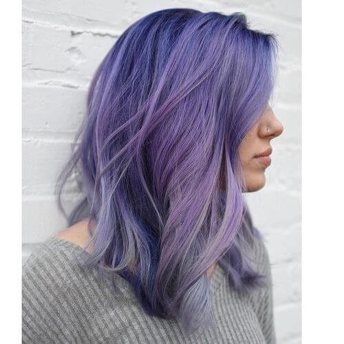 10 Stunning Examples of Purple Hair