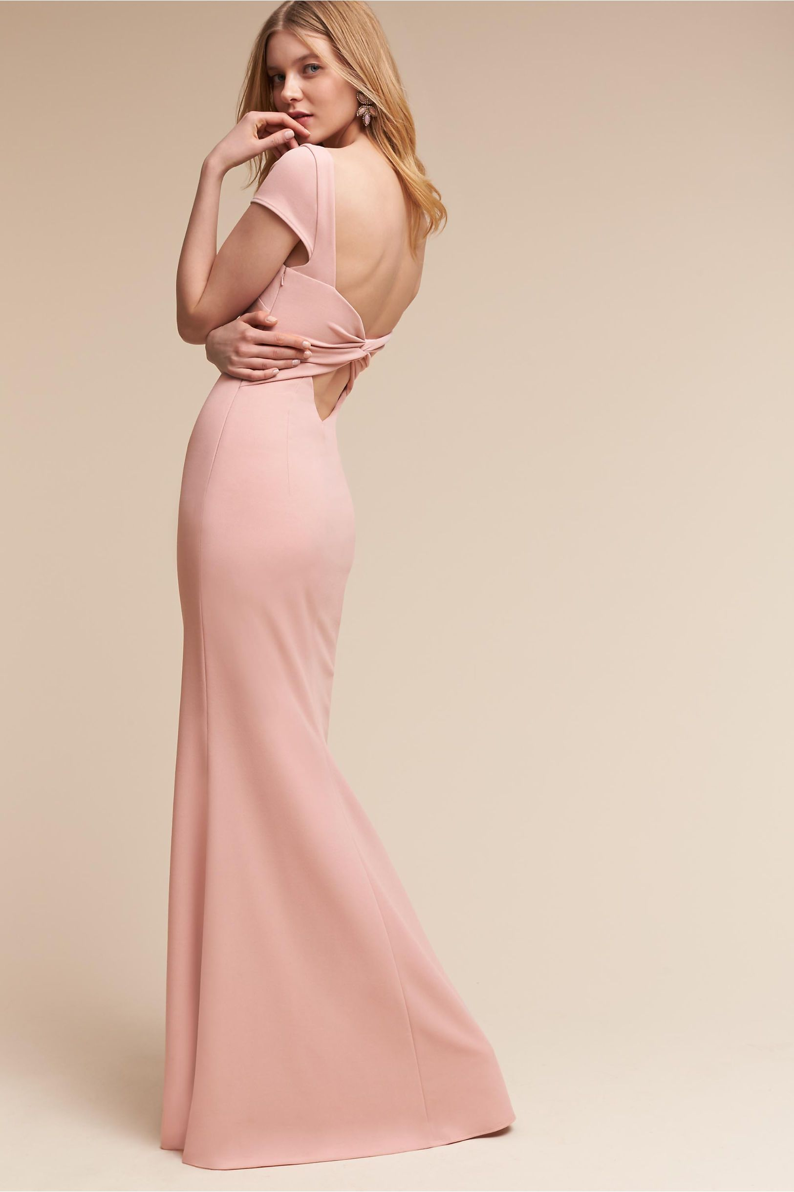 BHLDN\'s Madison Dress in Dusty Rose