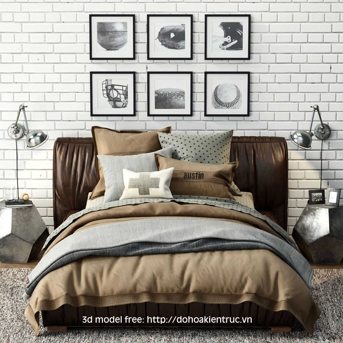 nice bed 3d model free download good pinterest 3d and nice
