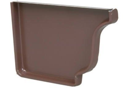 Amerimax 2520519 K Style Left Gutter End Cap 5 Aluminum Brown Pack Of 15 You Can Find More Details By Visiting The Image Gutter Colors Gutters Gutter