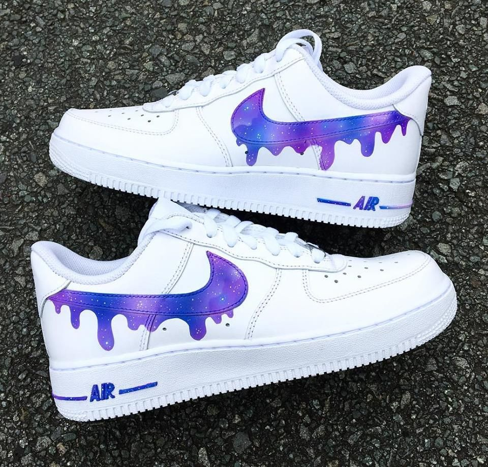 måla skor vita