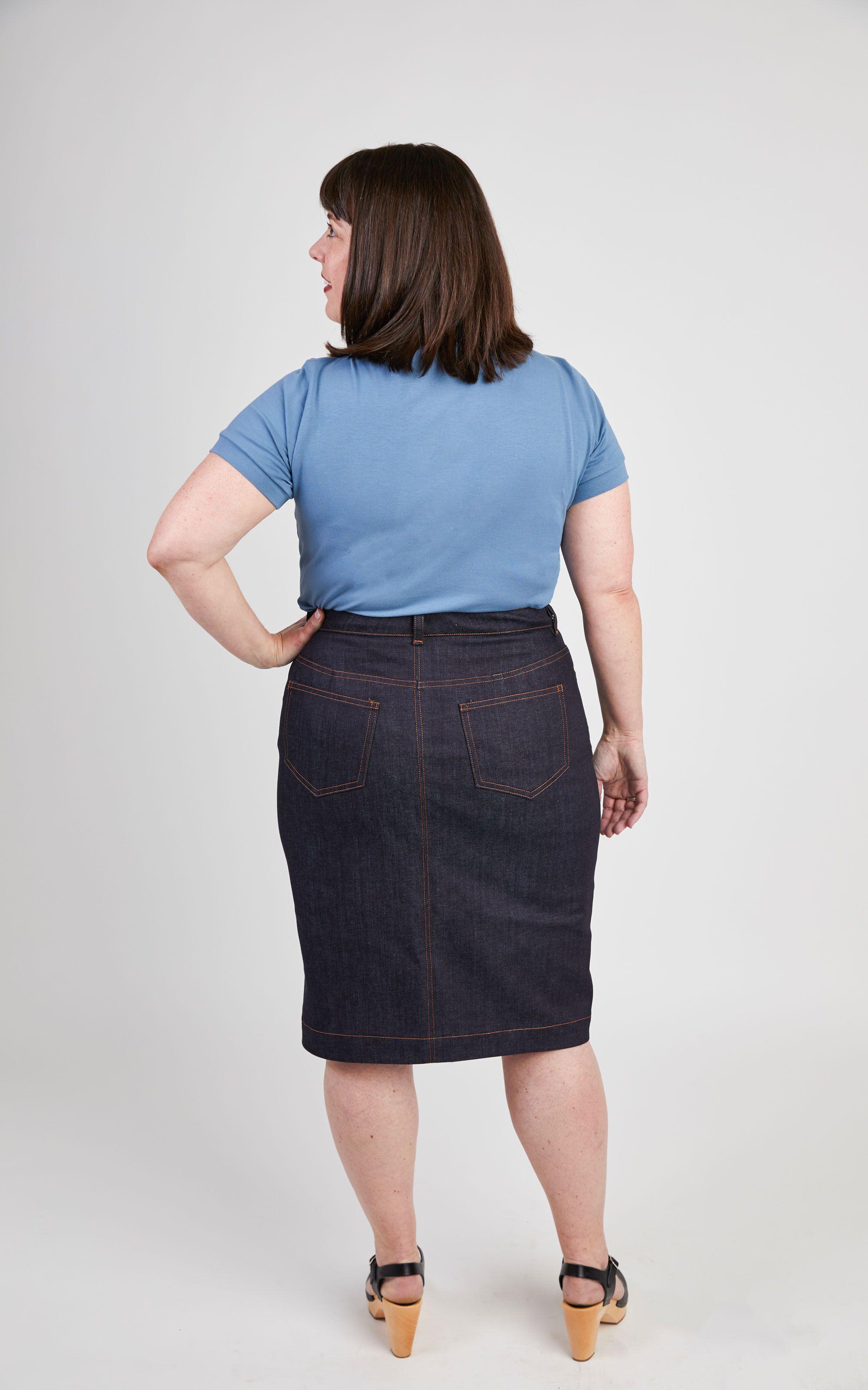 0e8511bdd7 Plus Size Denim Skirt Pattern - Gomes Weine AG