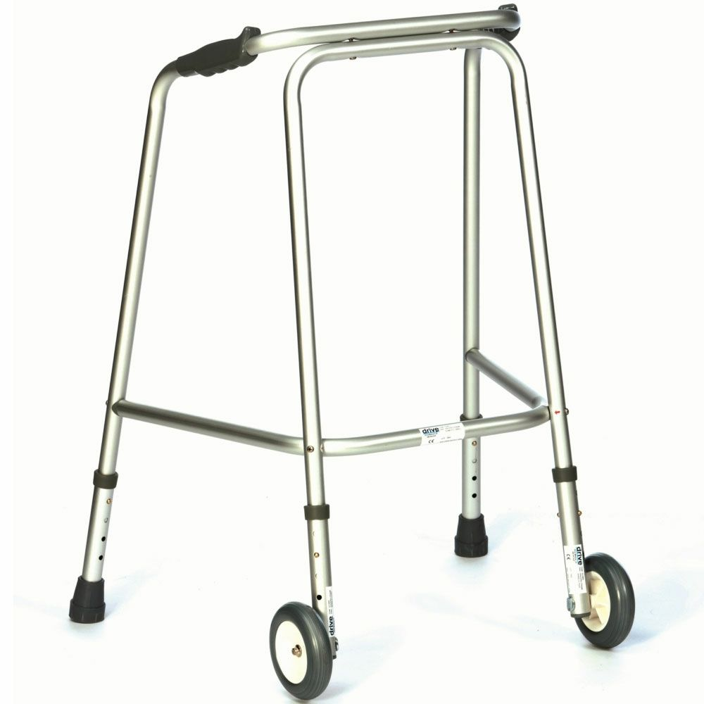 Wheeled Zimmer Frame: Are used as a walking aid for individuals with ...