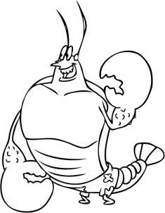 How To Draw Larry The Lobster Step By Nickelodeon Characters Cartoons
