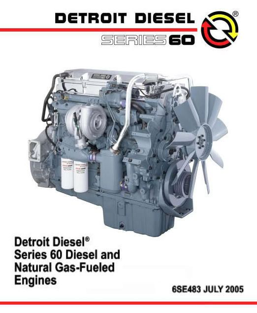 Detroit Diesel Series 60 Engine Diagram : detroit, diesel, series, engine, diagram, Manuals