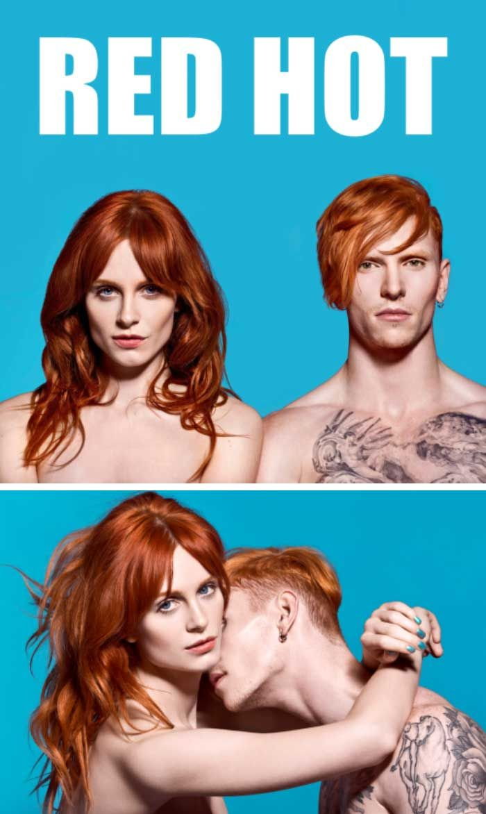 """""""Celebrating red-haired beauty, RED HOT has truly set popular culture and social media alight, changing perceptions of ginger men across the world. RED HOT BOX celebrates girls taking over in 2015."""" - HotHot Magazine"""