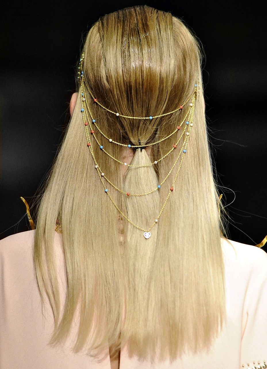 130186:  Hair at Manish Arora S/S 2013