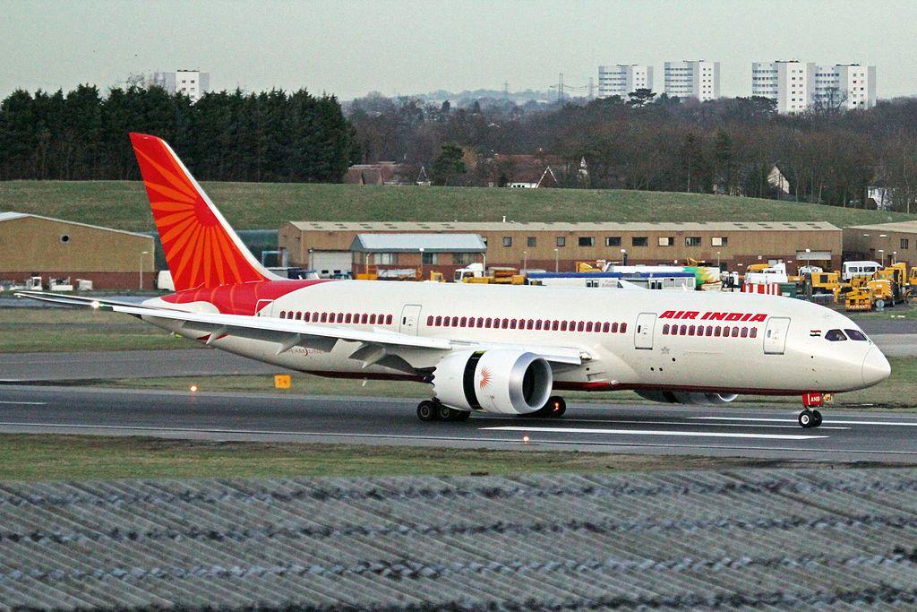 Air India Boeing 787 8 Dreamliner VT ANB at Birmingham